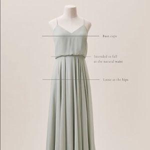 BHLDN- Jenny Yoo Inesse Dress; bridesmaid